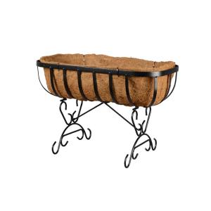 Arcadia Garden Products Solstice 24 inch Coconut Deck Planter by Arcadia Garden Products