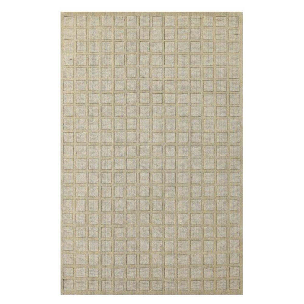 Kas Rugs Square is Chic Beige 3 ft. 3 in. x 5 ft. 3 in. Area Rug