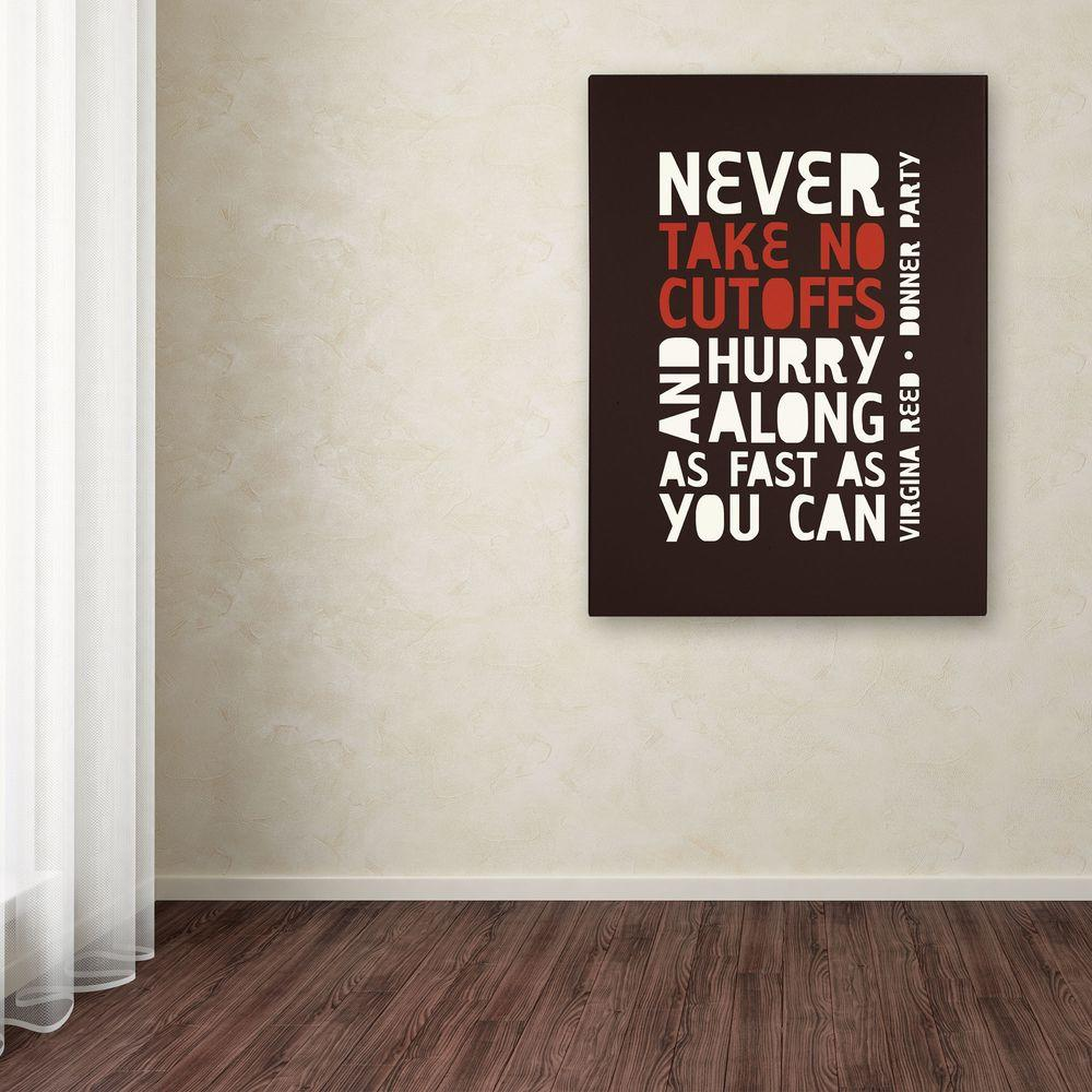 47 in. x 35 in. Donner Party II Canvas Art