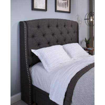 King - Gray - Headboard - Beds & Headboards - Bedroom Furniture ...