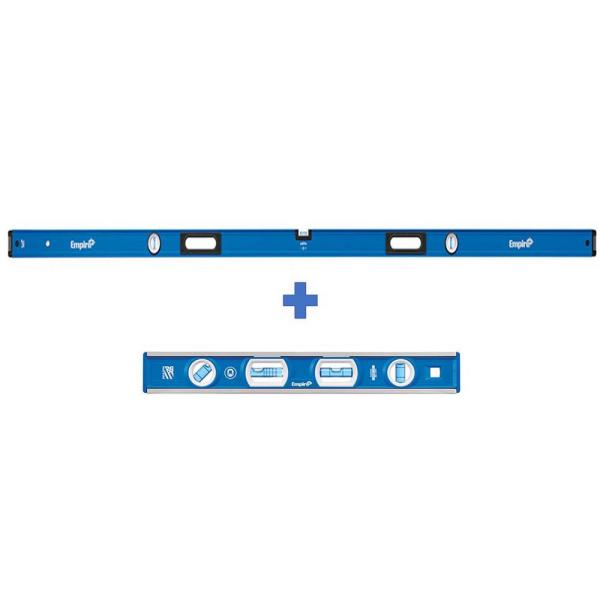 96 in. Box Level with 12 in. Magnetic Level