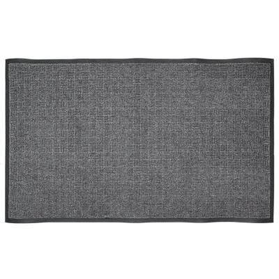 Charcoal 36 in. x 60 in. Rubber Commercial Door Mat