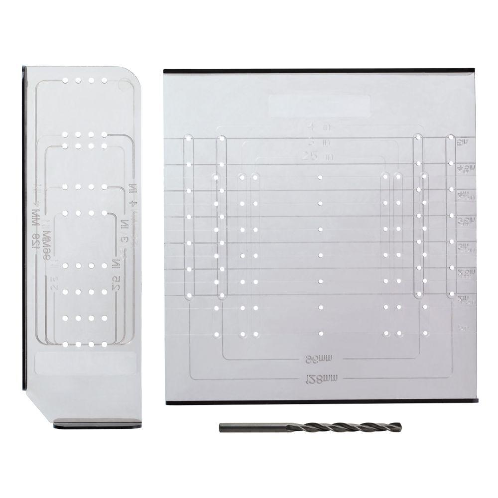 Liberty Align Right Cabinet Hardware Installation Template Set ...