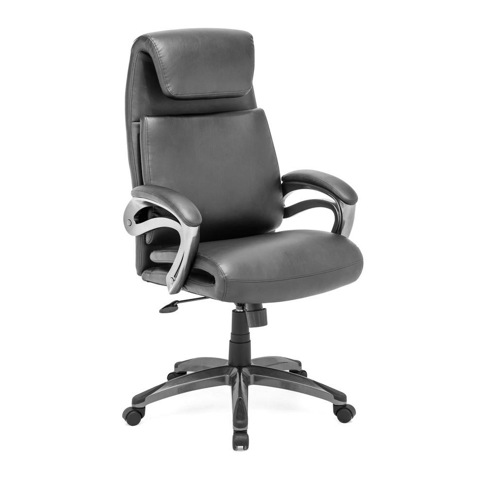 ZUO Lider Relax Black Office Chair-DISCONTINUED