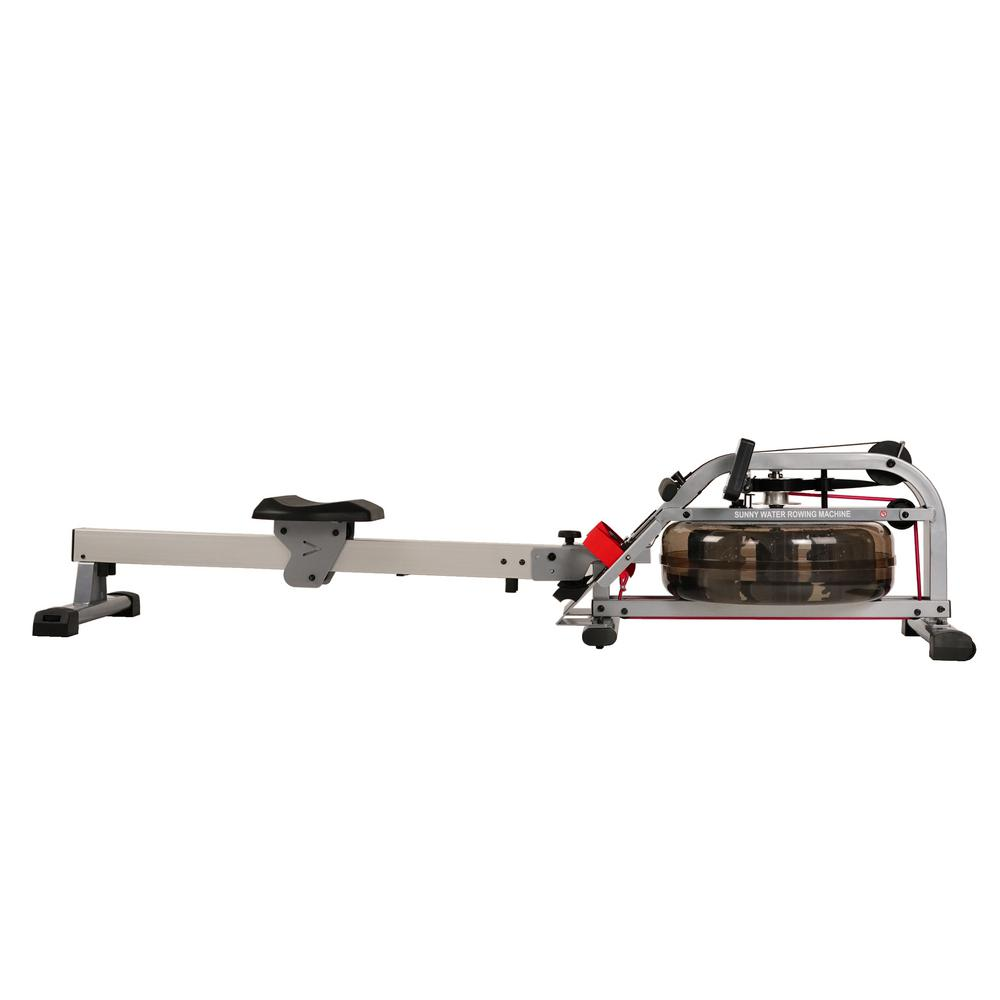 Sunny Health Amp Fitness Water Rowing Machine Rower With Lcd
