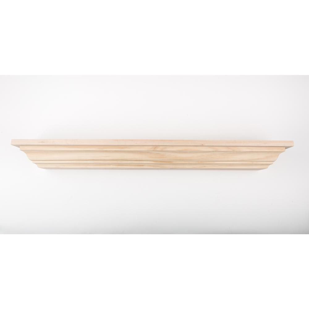60 in. L x 5 in. D Floating Unfinished Crown Molding
