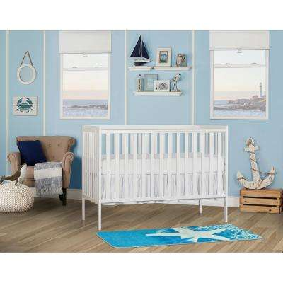 Synergy White 5-in-1 Convertible Crib