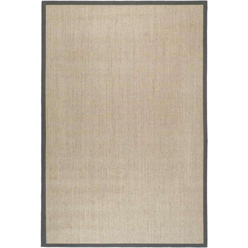 Sisal Runner White Kitchen With Carrara Marble Brass: Safavieh Natural Fiber Marble/Grey 5 Ft. X 8 Ft. Area Rug-NF441B-5