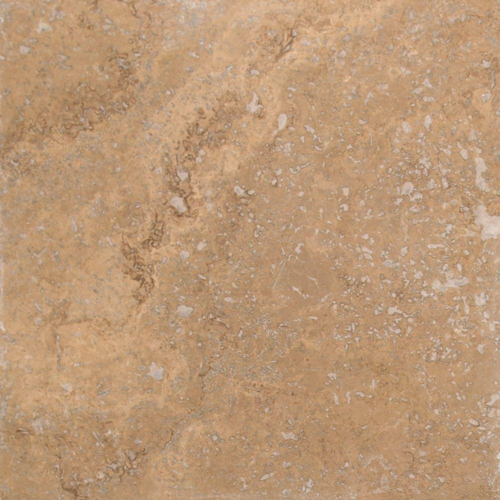 Msi Roma 18 In X 18 In Honed Travertine Wall And Floor Tile 100