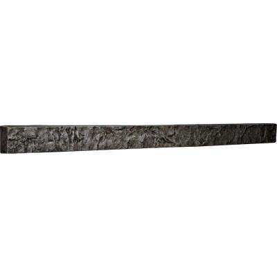 2 in. x 48-1/4 in. x 3 in. Slate Urethane Universal Trim for Stone and Rock Wall Panels
