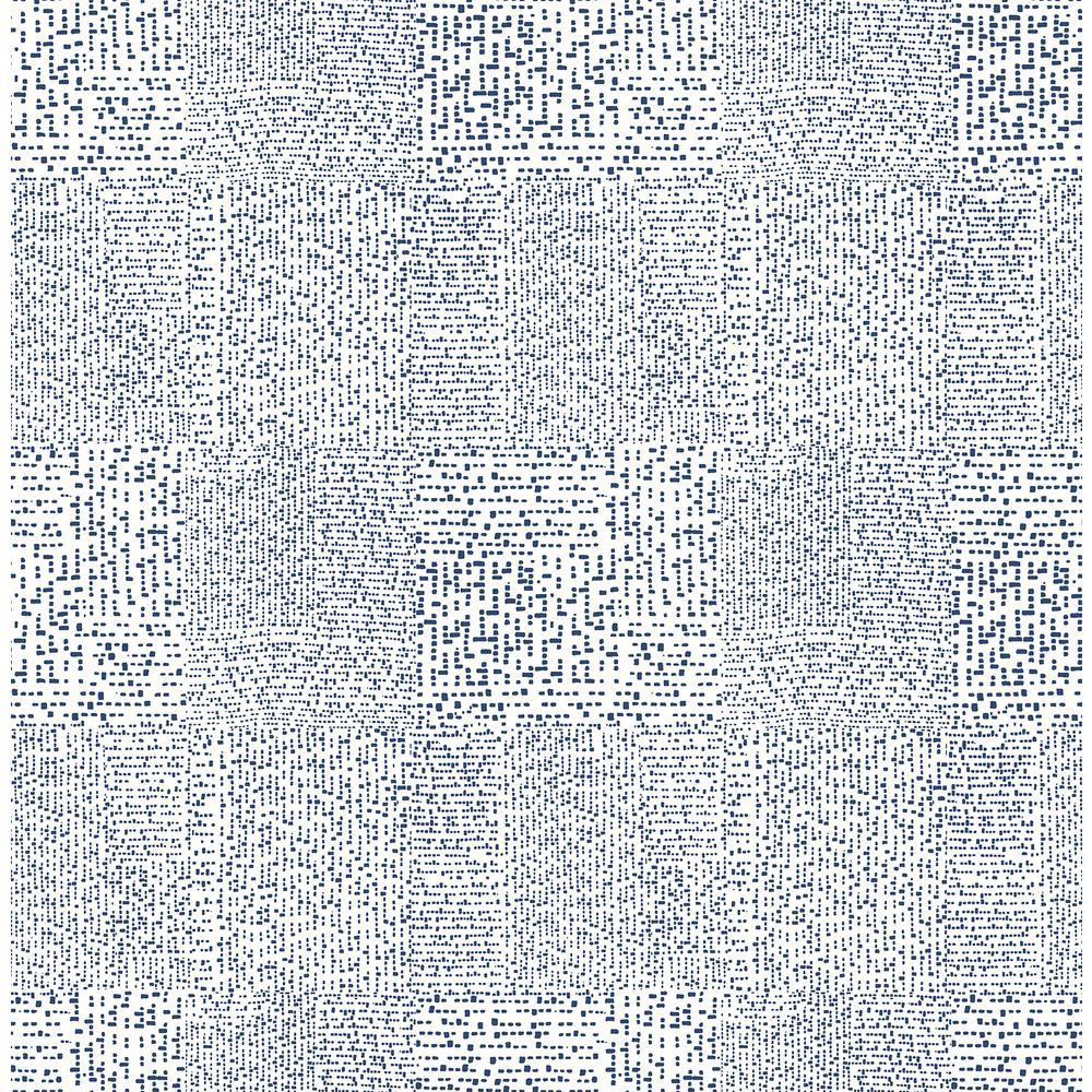 Zenith Black Abstract Geometric Wallpaper