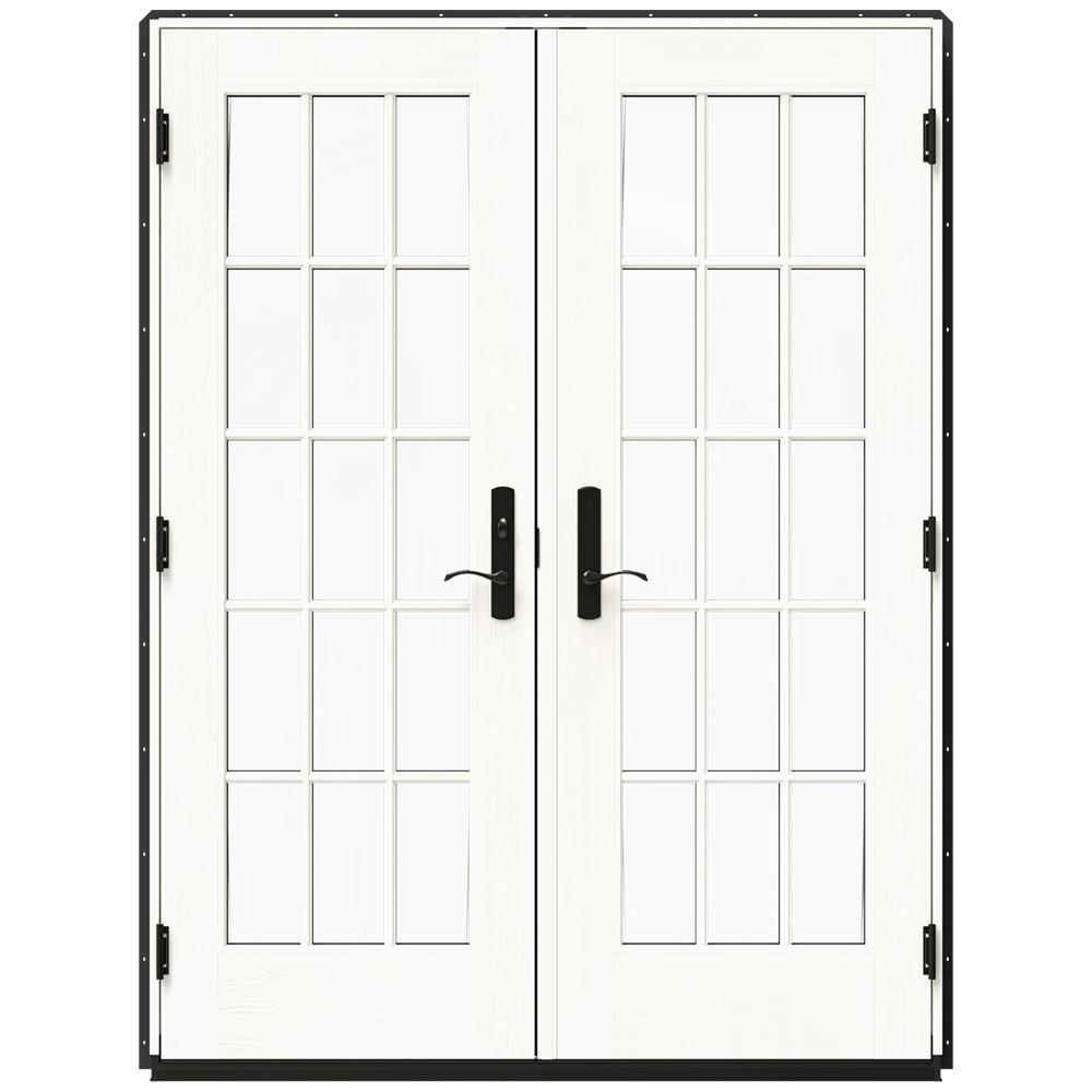 60 in x 80 in w 4500 bronze clad wood right hand - 60 Patio Door