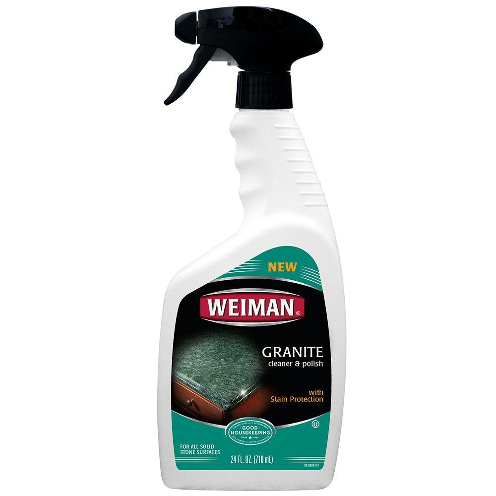 Weiman 24 Oz Granite And Stone Cleaner 109 The Home Depot
