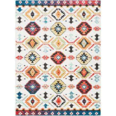 Sulaiman Multicolor 8 ft. x 10 ft. Area Rug