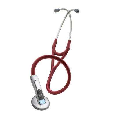 3M 3100 Electronic Series Adult Stethoscope in Burgundy