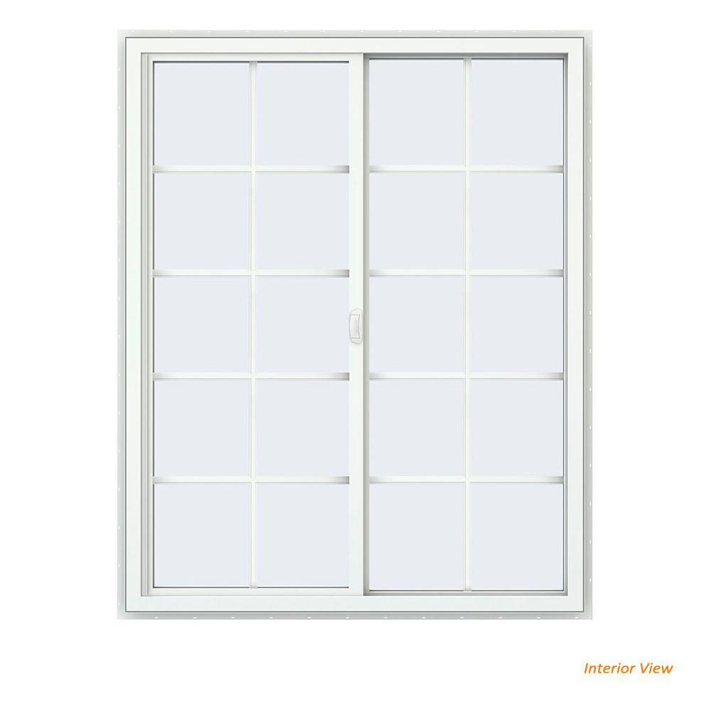 double pane windows home depot slider 475 in 595 v4500 series black painted vinyl right doublepane windows doors the home depot