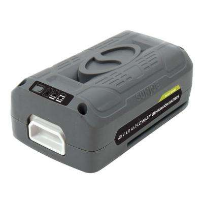 iON 40-Volt EcoSharp 4 Amp Lithium-Ion Battery