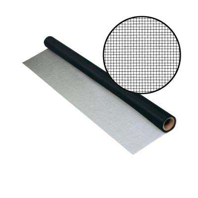36 in. x 50 ft. UltraVue Black Insect Screen