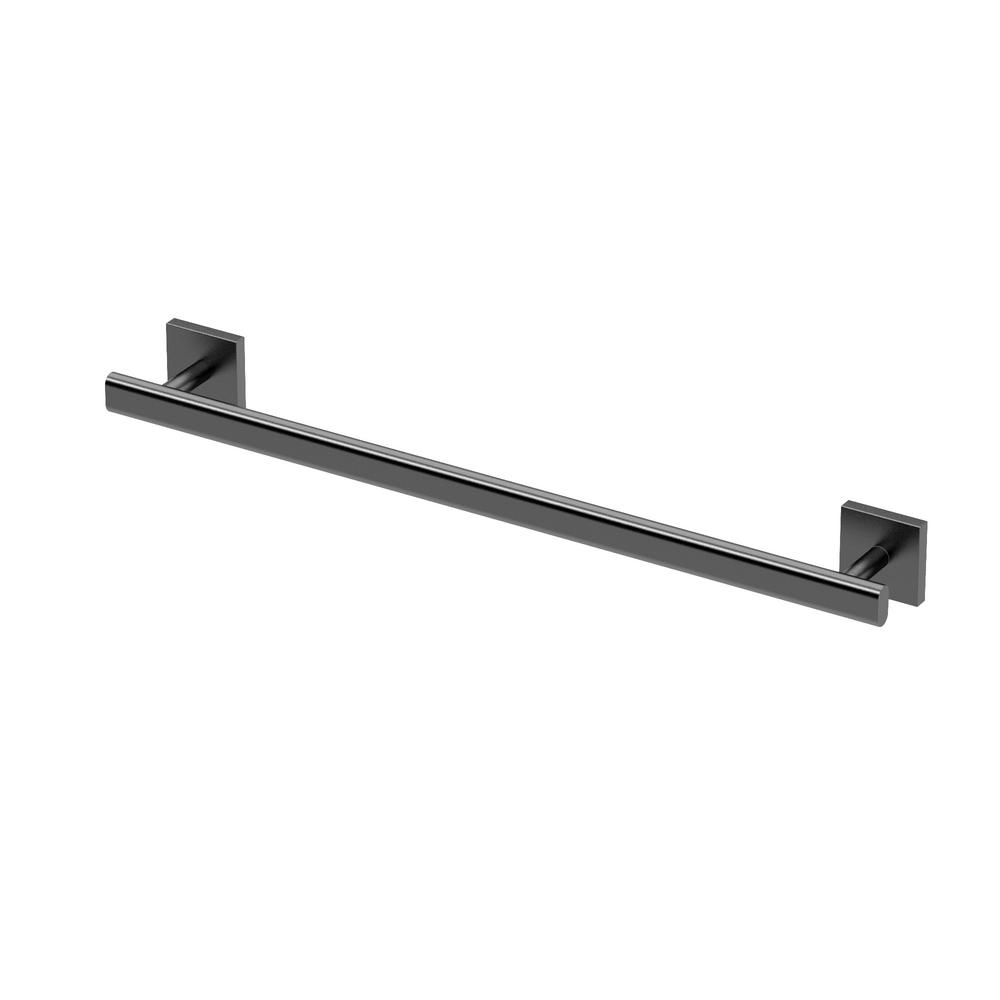 Towel bar in matte black
