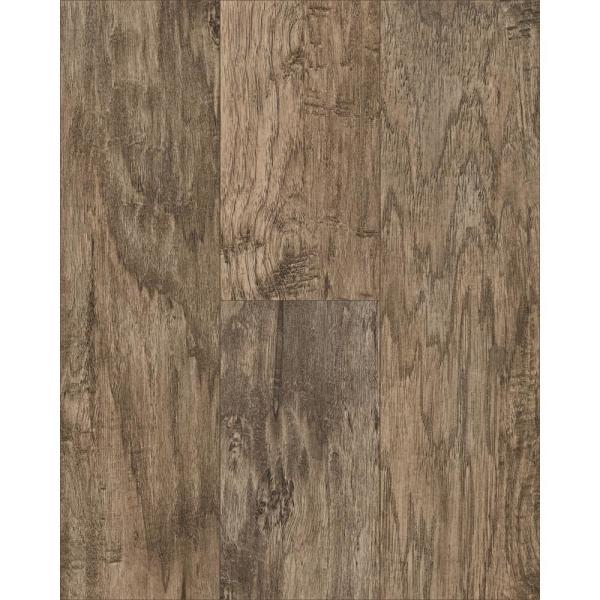 Saratoga Hickory Amber 7 mm Thick x 7-2/3 in. Wide x 50-5/8 in. Length Laminate Flooring (24.17 sq. ft. / case)