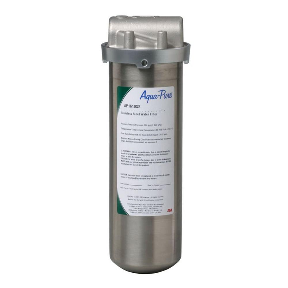 null CO AP1610ss Whole House Dirt/Rust Filter