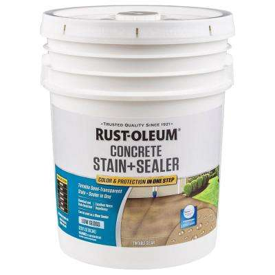 5 gal. Clear Low Gloss Concrete Sealer