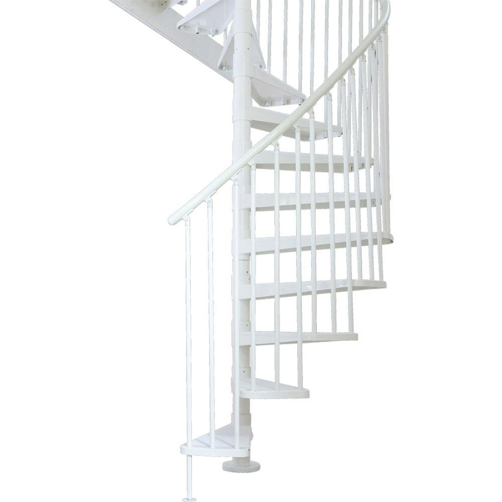 Dolle Stockholm 61 in. 14-Tread Spiral Staircase Kit