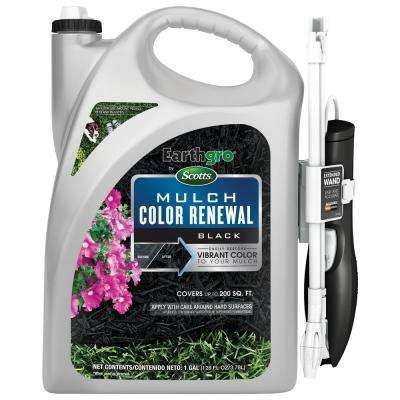 1 Gal. Scotts Black Mulch Color Renewal