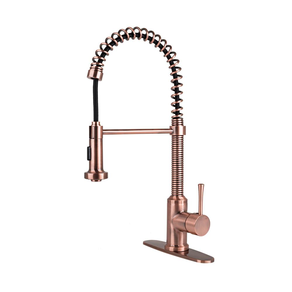 kitchen most sink faucet faucets copper classic