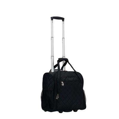 Black Melrose Wheeled Underseat Carry-On