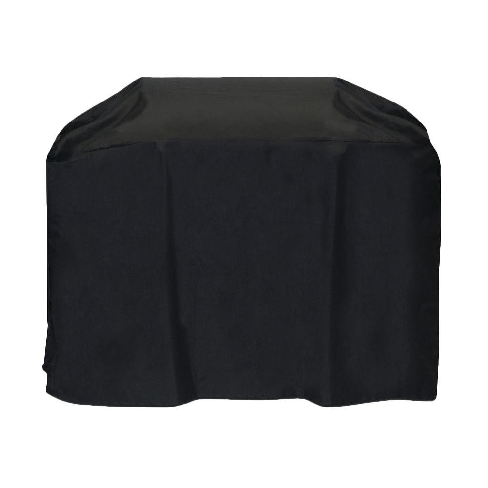 Two Dogs Designs 60 in. Cart Style Grill Cover in Black