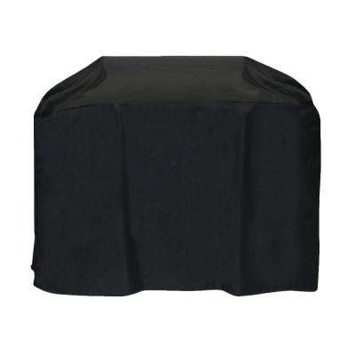60 in. Cart Style Grill Cover in Black