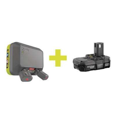 Laser Park Assist Accessory with Compact Lithium Battery