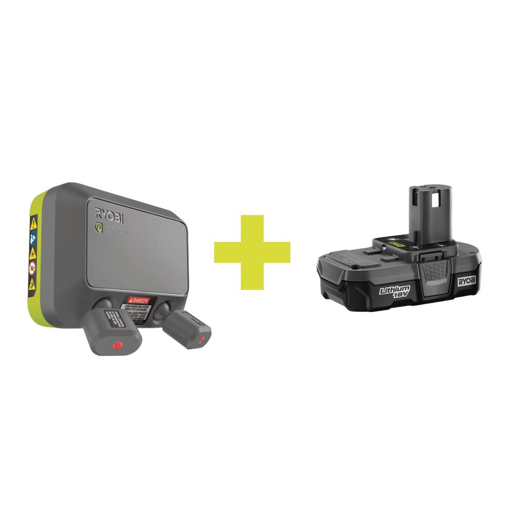 Ryobi Laser Park Assist Accessory With Compact Lithium