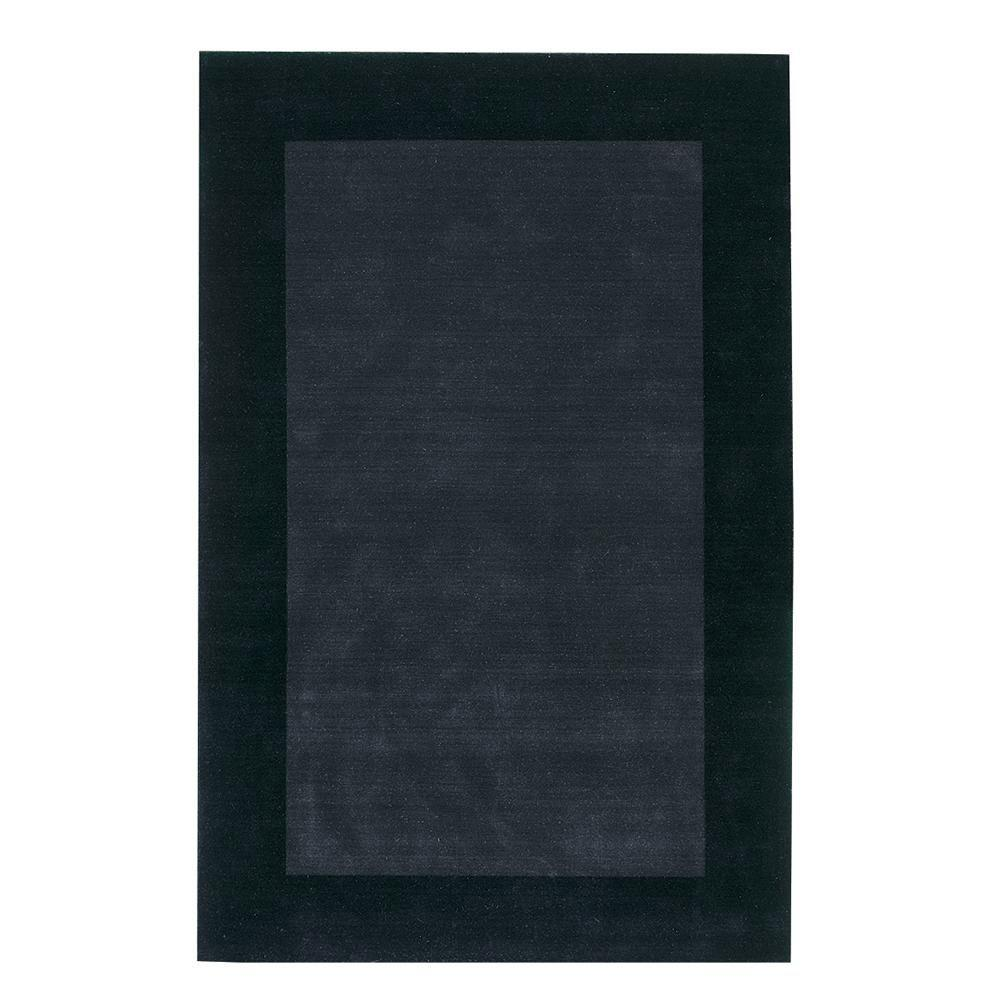 Home Decorators Collection Melrose Black 8 ft. x 11 ft. Area Rug