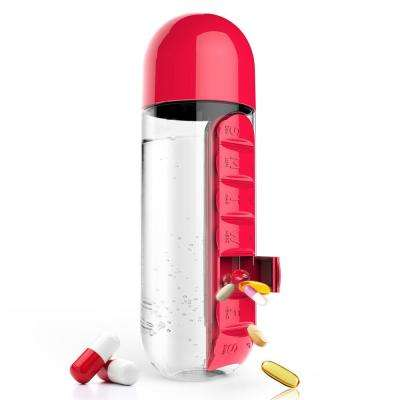 "23 oz. ""In Style"" Red Pill Organzier Bottle"