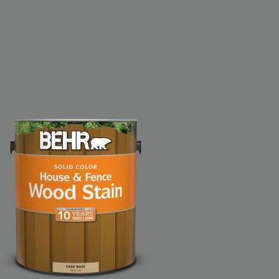 1 gal. #6795 Slate Gray Solid Color House and Fence Exterior Wood Stain