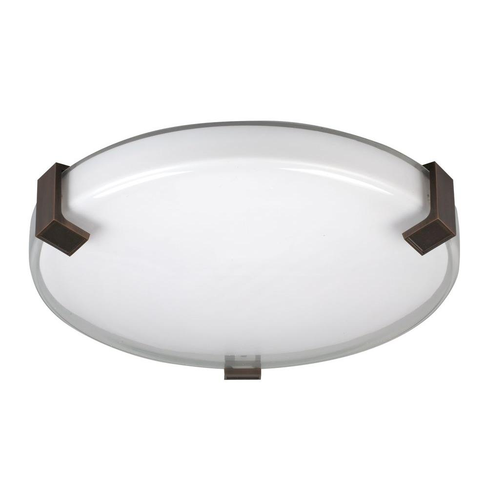 Radionic Hi Tech Orly Oil Rubbed Bronze Semi-Flush Mount Light
