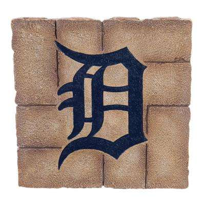 Detroit Tigers 12 in. x 12 in. Decorative Garden Stepping Stone