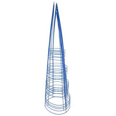 54 in. Heavy-Duty Blue Tomato Cage (5-Pack)