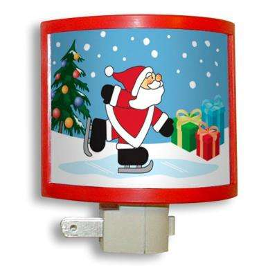 Manual Night Light with Santa Picture Frame