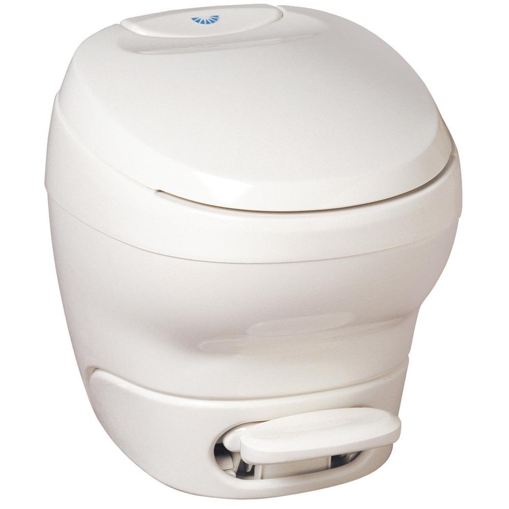 Aqua-Magic High Profile White Bravura Permanent Toilet