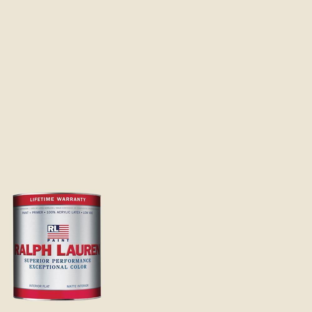Ralph Lauren 1-qt. Writer's Parchment Flat Interior Paint