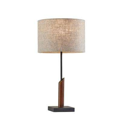 Ethan 22.5 in. Black Table Lamp