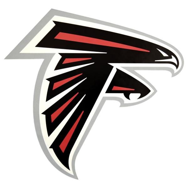Applied Icon Nfl Atlanta Falcons Outdoor Logo Graphic