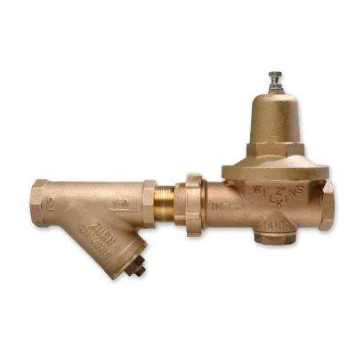 2 in. Lead-Free Bronze FPT x FPT Water Pressure Reducing Valve with Y-Type Strainer