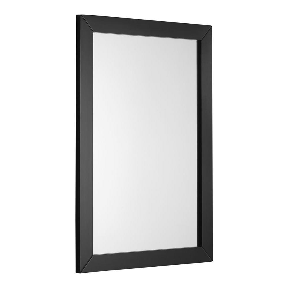 Delightful W Framed Wall Mirror In