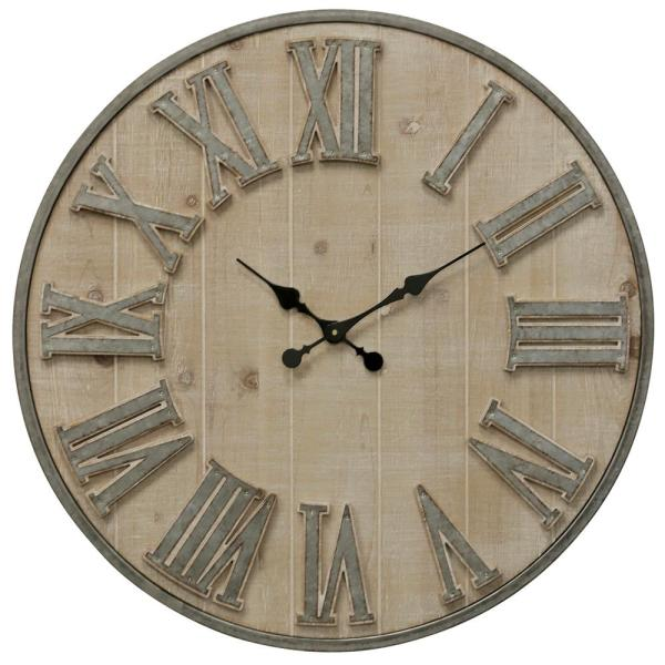 Antique Roman Numerals Wall Clock