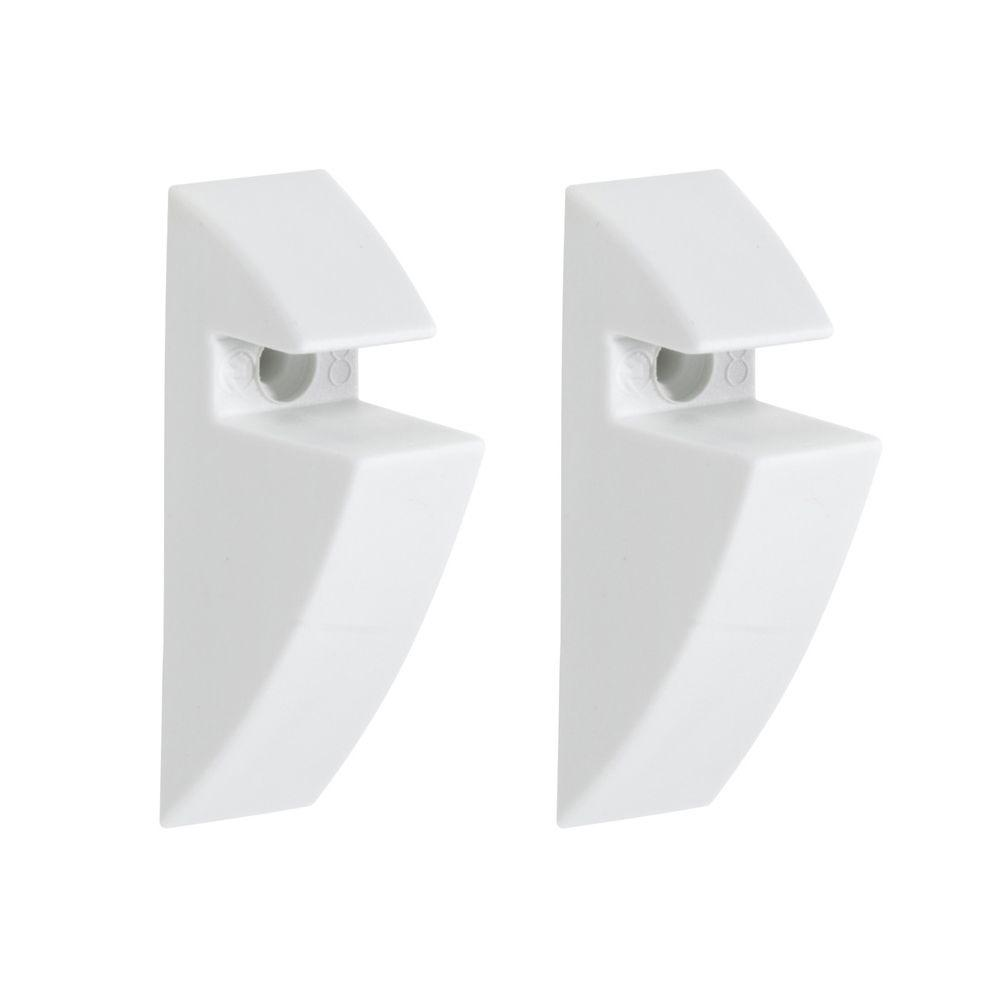 Dolle 5/16 in. Shelf Support Clip in White
