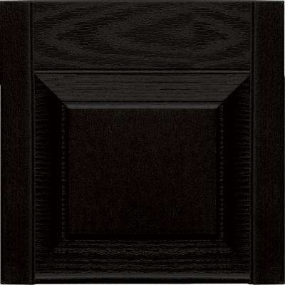 15 in. x 12 in. Black Transom Tops Pair #002